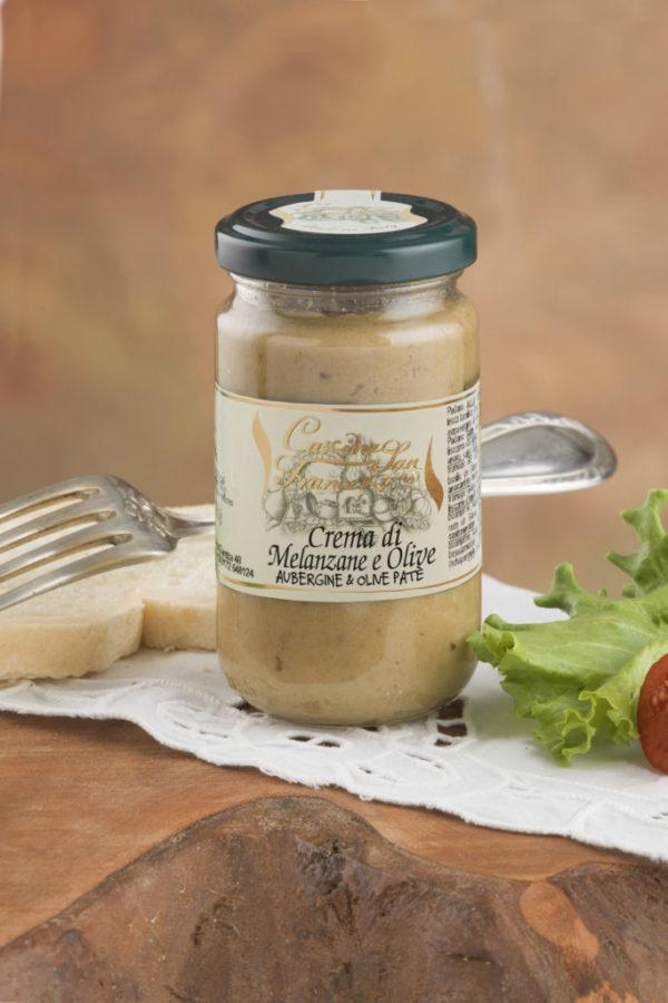 Crema die Melanzane e Olive 180gr