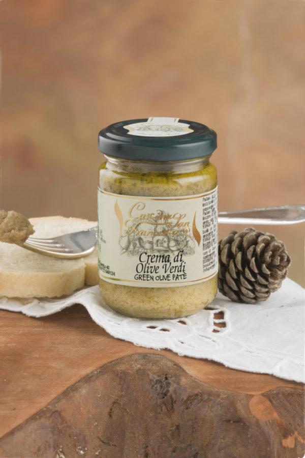 Crema di Olive Verdi 130gr