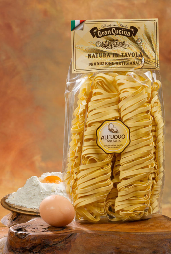 Tagliatelle All`Uovo 500gr./ Tagliatelle mit Eier