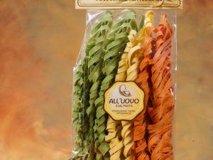 Tagliatelle All`Uovo Tricolore 250gr/Tagliatelle mit Ei Dreierlei